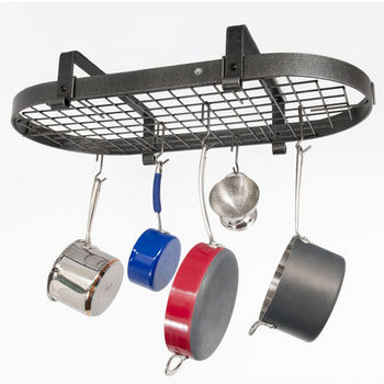 Low Ceiling Oval Pot Rack PR12 Series
