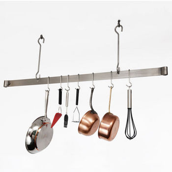 Enclume 60 Stainless Steel Ceiling Bar Kitchen Pot Rack