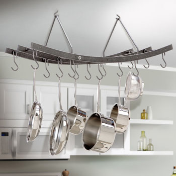 Enclume Premier Collection Reversible Arch Pot Rack