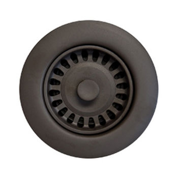 Houzer Color Strainer 3-1/2'' Opening, Oil Rubbed Bronze Finish