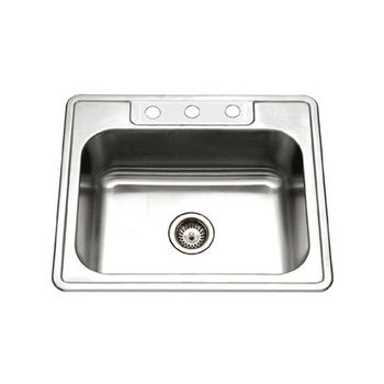 3-Hole Sink Top View