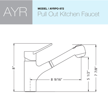 Faucet Specifications