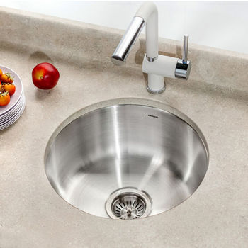 Houzer Club Series Undermount Round Bar/Prep Sink
