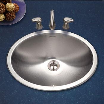 Oval Topmount Sink