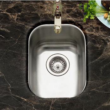Houzer Club Series Undermount Medium Bar/Prep Sink
