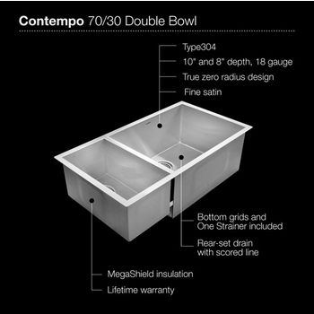 Small Bowl Left Sink Specification