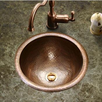 Houzer Hammerwerks Baby Round Lavatory Sink