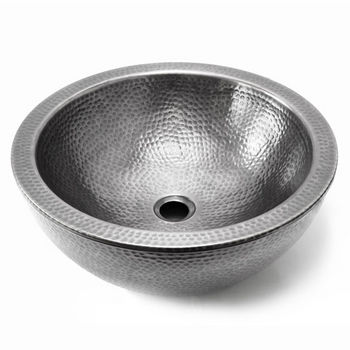 Lustrous Pewter Top View