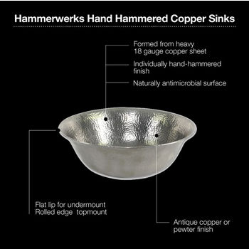 Pewter Sink Specification