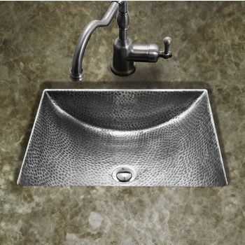 Verge Bath Console with Metal Tray