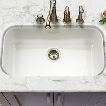 Houzer Porcela Collection Kitchen Sinks | KitchenSource.com