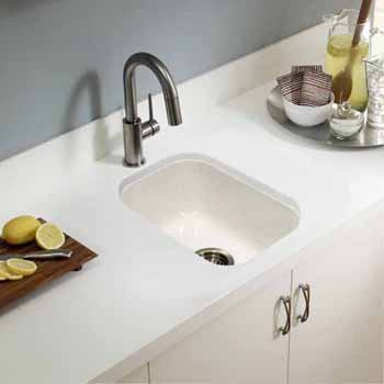 Platus Series Undermount Rectangular Fireclay Bar Sink ...