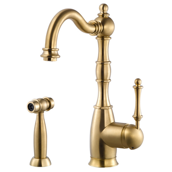 Brushed Brass Product View