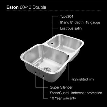 Small Bowl Right Sink Specification