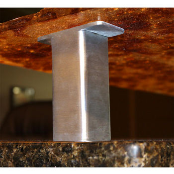 Bar supports and brackets crafted from quality metals and for Cantilever counter support