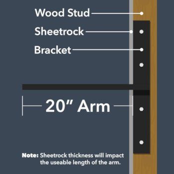 """20"""" Arm Length Info"""