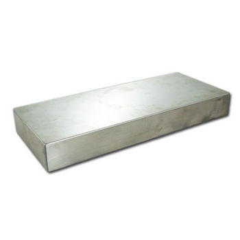 Federal Brace Floating Shelf Kit in Stainless Steel, 24'' W x 10'' D x 3'' H