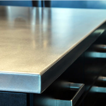Federal Brace Stainless Steel Island Countertop 50 W X 26 D 1 2 H
