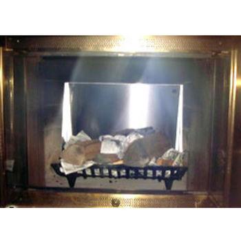 Freestanding Fireplace Heat Reflector