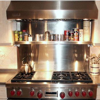 kitchen backsplash vent hood wall backsplash with
