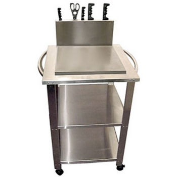 ... Stainless Craft Kitchen Carts