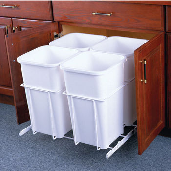 Knape & Vogt Trash Cans, Waste Bins