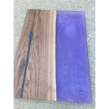 Black Walnut & Epoxy Serving Tray