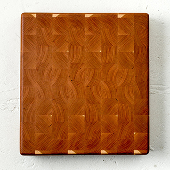 Fjelsted Nord Minnehaha End Grain Cutting Board, 16'' W x 14'' D x 1.5'' H, Cherry