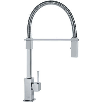 Franke Planar 8 Flex Pull Down Spray Kitchen Faucet, Polished Chrome
