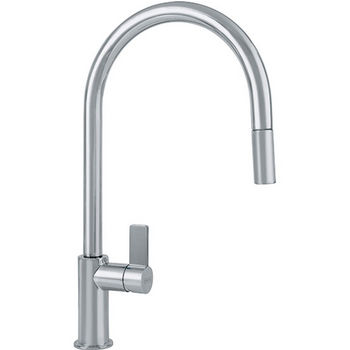 Franke Ambient Pull Down Spray Kitchen Faucet, Satin Nickel