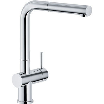 Franke Active Plus Pull Out Spray Kitchen Faucet, Polished Chrome