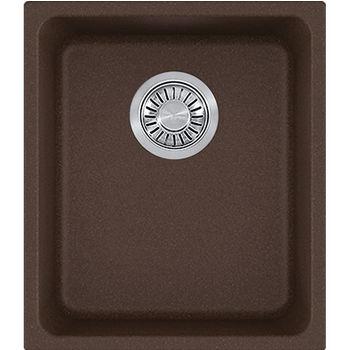 Franke Kubus Single Bowl Undermount Kitchen Sink, Granite, Fragranite Mocha