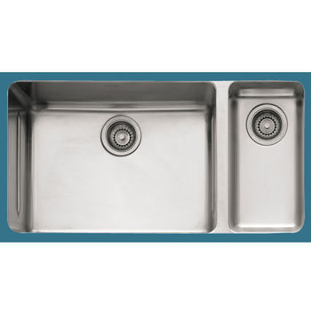 Franke Kubus Stainless Steel Double Bowl Undermount Sink