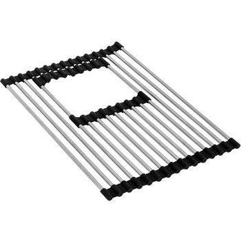 Franke Roller Mat for Bottom Small Side of PKG160 Sink, Stainless Steel
