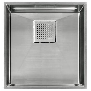 "Franke Peak 16"" Single Bowl Undermount Sink,16 Gauge, Stainless Steel, 16-7/8"" W x 17-3/4"" D"