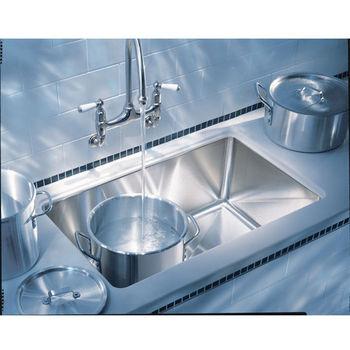 "Franke Professional Undermount Sink, 9"" h"