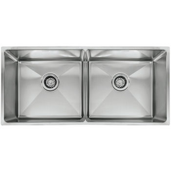 Sinks - FK-PSX120339 Professional Series Double Bowl Undermount Sink ...