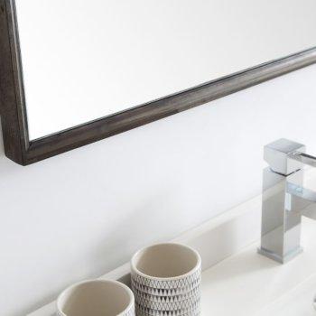 "Formosa 48"" Acadia Wood Close Up Mirror Frame"