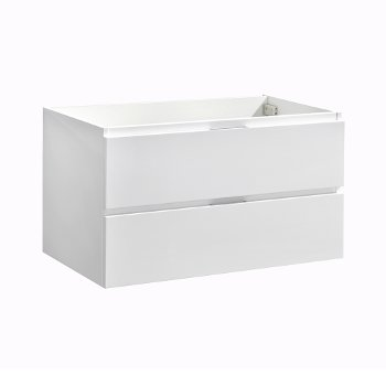 "36"" Glossy White Base Cabinet"