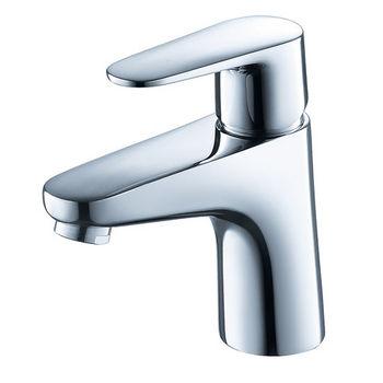 "Fresca Diveria Single Hole Mount Bathroom Vanity Faucet in Chrome, Dimensions: 1-4/5"" W x 5-2/5"" D x 5-29/32"" H"