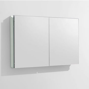 """Fresca 40"""" Wide Bathroom Wall Mounted Medicine Cabinet with Mirrors, Dimensions: 39-1/2"""" W x 26"""" H x 5"""" D"""