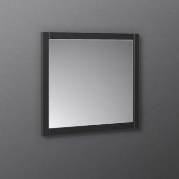 """Fresca Manchester 30"""" Black Traditional Bathroom Wall Mirror, 30"""" W x 1"""" D x 30"""" H"""