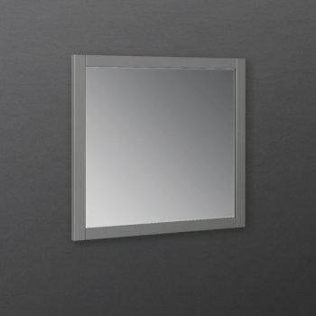 "Fresca Manchester Regal 30"" Gray Wood Veneer Traditional Bathroom Wall Mirror, 30"" W x 1"" D x 30"" H"