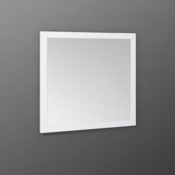 "Fresca Manchester 30"" White Traditional Bathroom Wall Mirror, 30"" W x 1"" D x 30"" H"