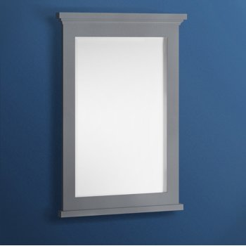 "Fresca Windsor 24"" Gray Textured Bathroom Mirror, 24""W x 1-4/5"" D x 34-4/5"" H"