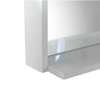 Shelf View, White 16''