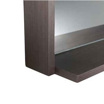 Shelf View, Gray Oak 40''