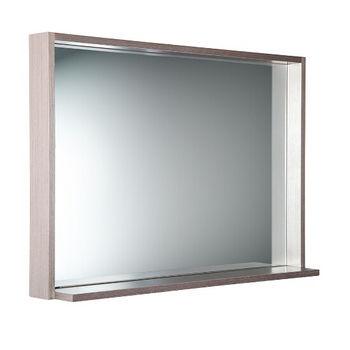 Side View, Gray Oak 40''