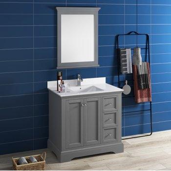 3 Piece Bathroom Vanity Set Blue Bath Accessory Sets Home Garden Worldenergy Ae