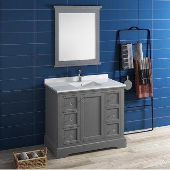decorative bathroom hardware sets.htm windsor 40   w traditional bathroom vanity set w mirror by fresca  traditional bathroom vanity set